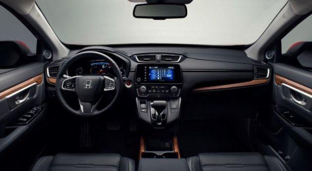 Honda похвалилась новым CR-V для европейского рынка