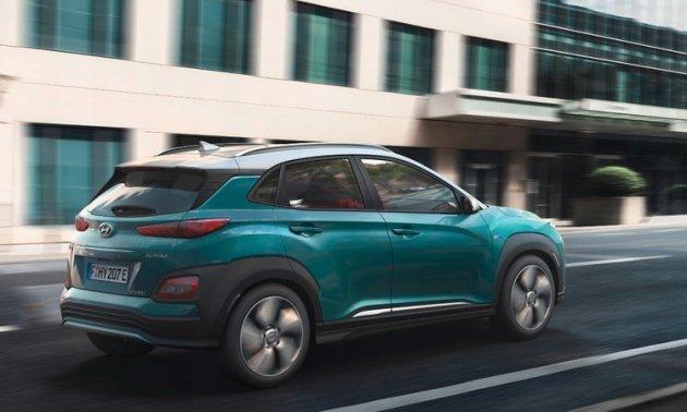Hyundai показала электрический кроссовер