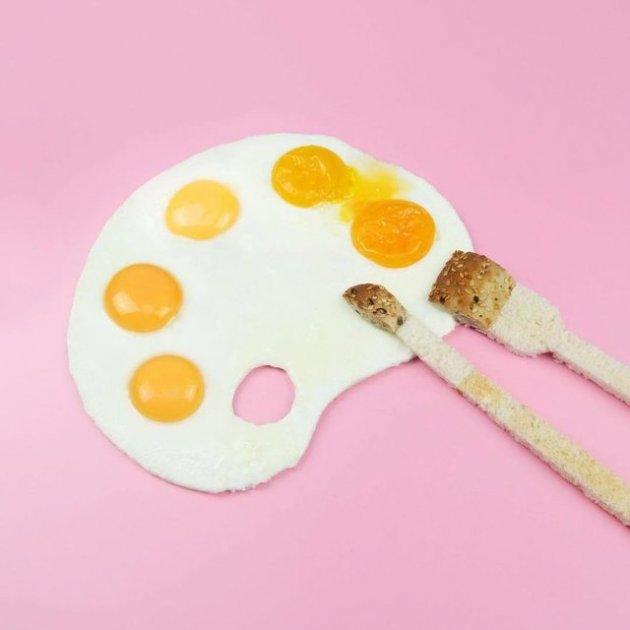 Талантливая художница создает визуальные истории из еды. Фото