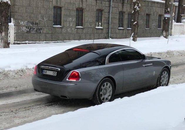 В Киеве «засветился» самый быстрый Rolls-Royce