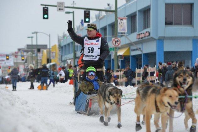 На Аляске стартовали самые знаменитые гонки. Фото