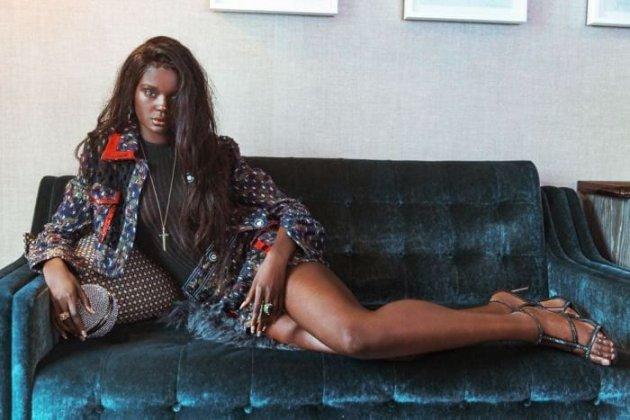 Как кукла: невероятные снимки темнокожей модели. Фото