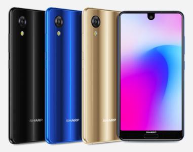 Sharp представила безрамочный мини-версию смартфона Aquos