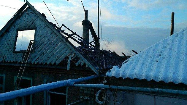 Пожар в Бердянске: хозяин дома сгорел заживо