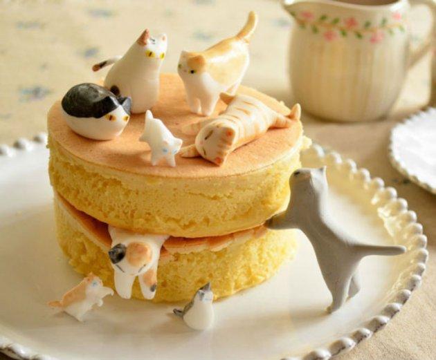 Эти десерты – настоящие произведения искусства. Фото