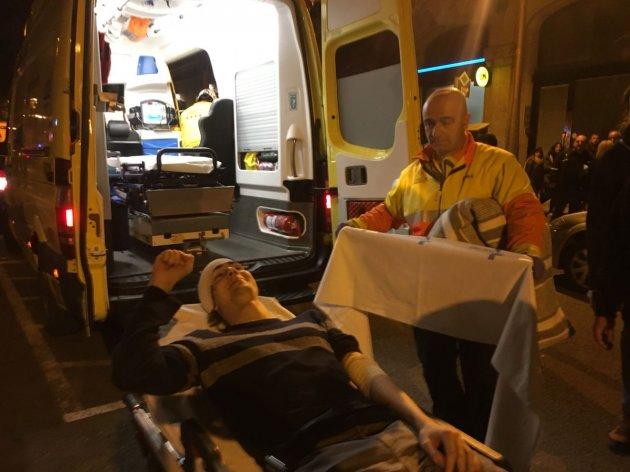 В массовых беспорядках в Барселоне пострадали 27 человек