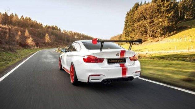 Известная тюнинг-компания показала доработанный BMW M4 Coupe