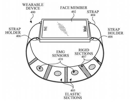 Apple запатентовала несколько новых технологий для смарт-часов