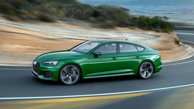 Audi рассекретила новый RS5 Sportback