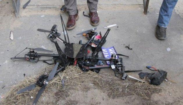 Сеть развесели падающие дроны «Почты России»