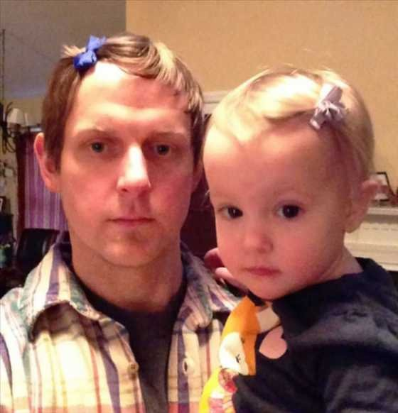 Папы и их маленькие девочки (10 фотоподборок)