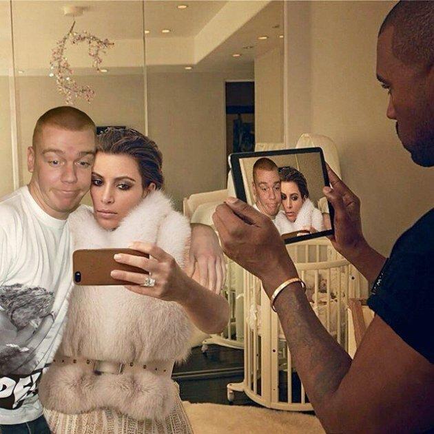 Гуру фотошопа добавил себя на снимки со звездами и насмешил весь Интернет