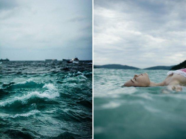 Фотоподборка которая пахнет морем