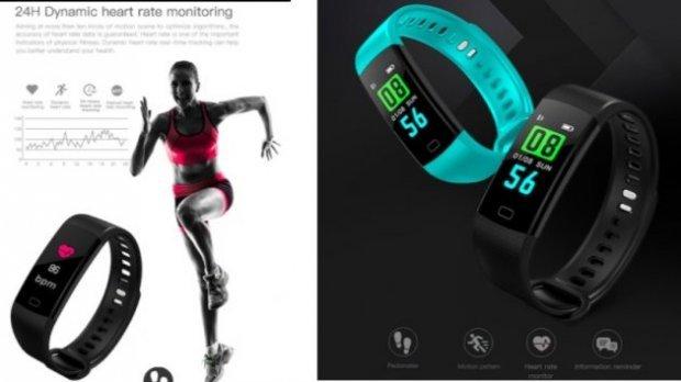 Так выглядит «самый дешевый» фитнес-браслет