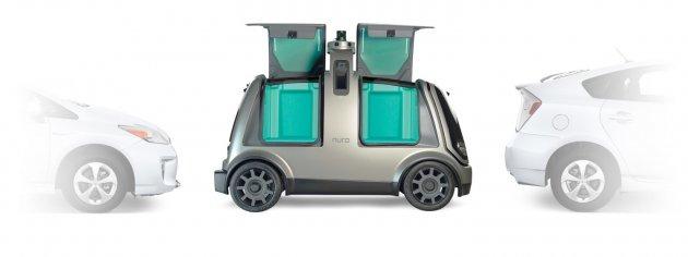 Honda работает над беспилотным электромобилем-курьером