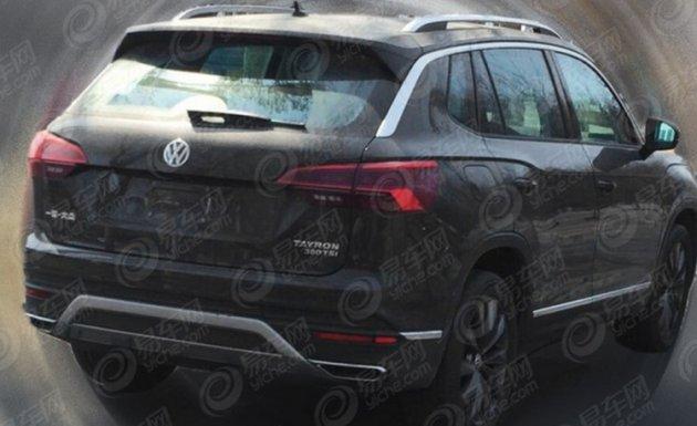 Фотошпионам удалось засечь новый кроссовер от Volkswagen