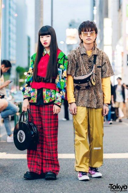 Так выглядят японские модницы и модники. Фото