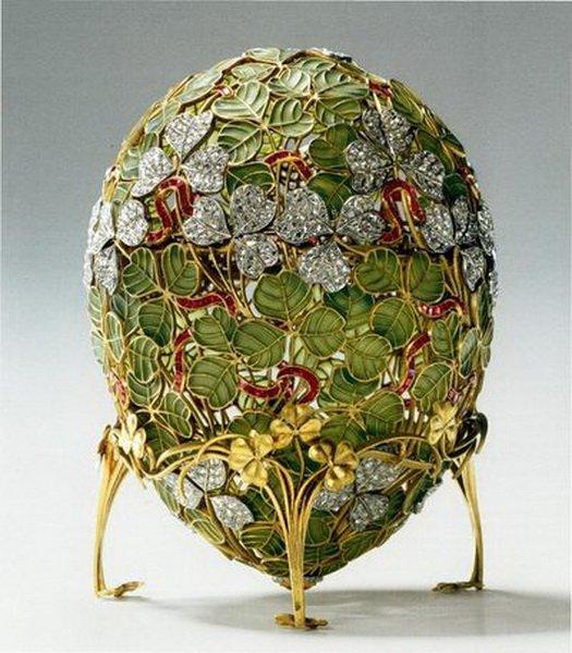 Легендарная императорская серия Пасхальных яиц от величайшего ювелира. Фото