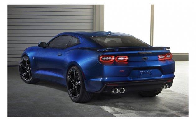 Chevrolet показала обновленное купе Camaro
