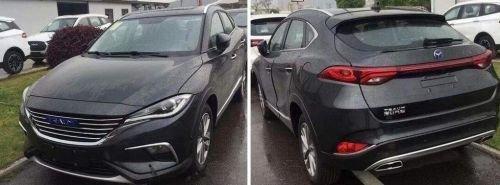Китайцы клонировали популярную модель Mazda