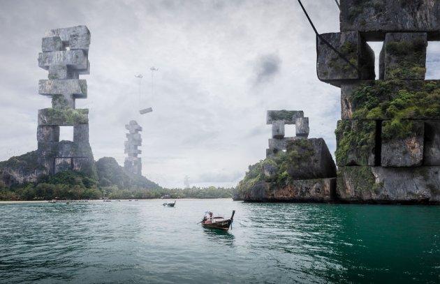 Сюрреалистичный мир, который заставляет задуматься. Фото