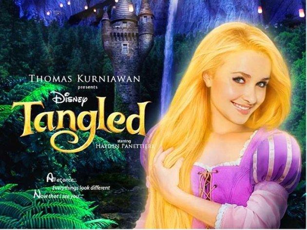 Как бы выглядели знаменитости в роли принцесс студии Disney. Фото