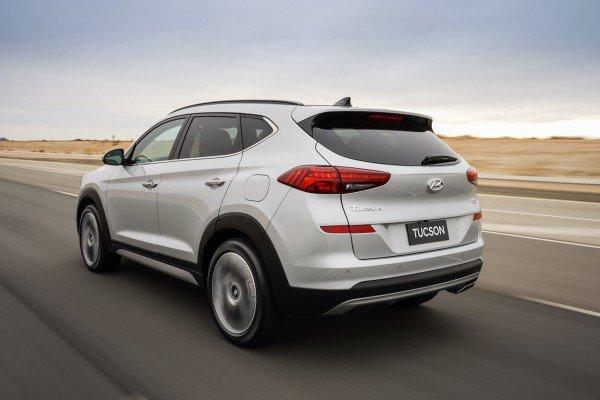 Hyundai показала обновленный кроссовер Tucson