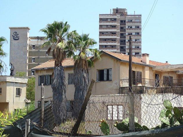 Так выглядит город-призрак на берегу Средиземного моря. Фото