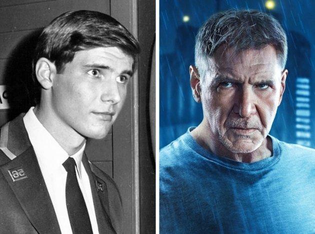 Звезды мирового кинематографа на снимках из серии «Тогда и сейчас». Фото
