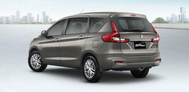 Компактвен Suzuki Ertiga нового поколения стал комфортнее