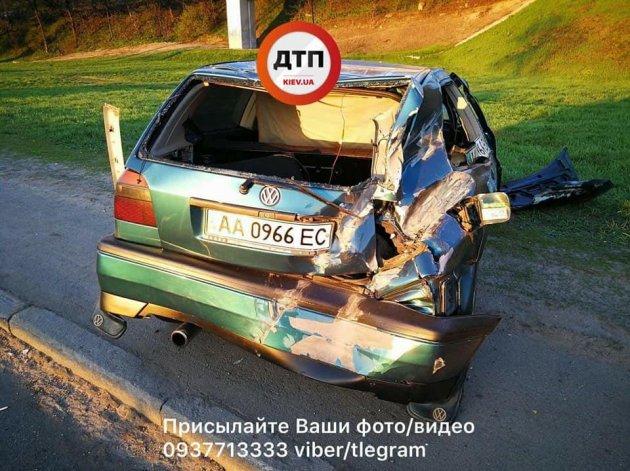 В Киеве произошло серьезное ДТП с пострадавшими