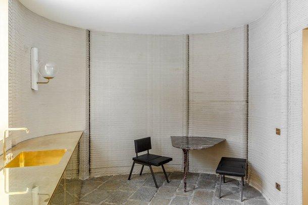 В Милане показали жилой дом, напечатанный на 3D-принтере. Фото