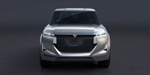 Nissan и Dongfeng похвастались концептом большого внедорожника