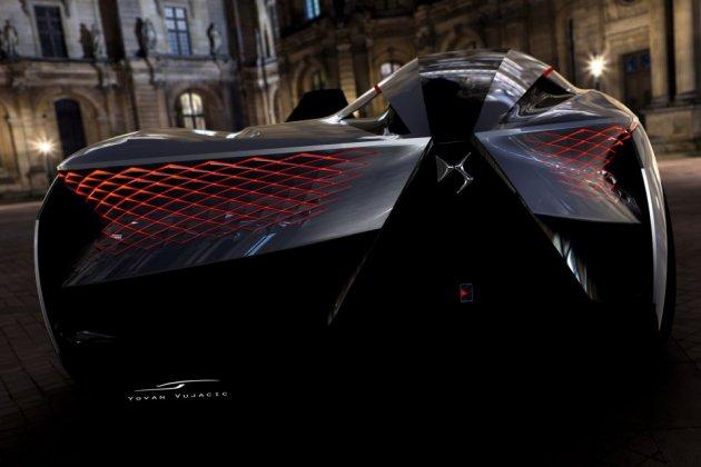 Французы похвастались ассиметричным спорткаром будущего