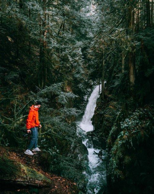 Невероятные пейзажи Британской Колумбии от юного туриста. Фото
