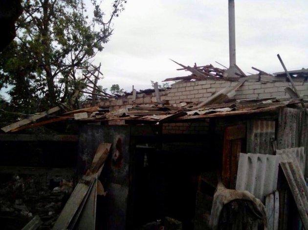 На Луганщине под обстрел попали мирные жители, есть жертвы