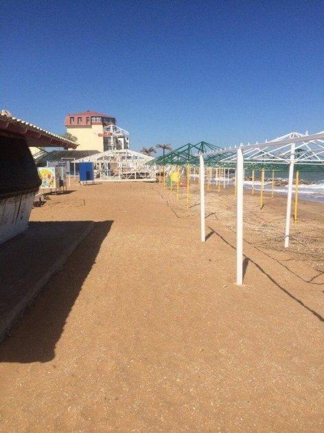 Пользователи Сети высмеяли пустые крымские пляжи