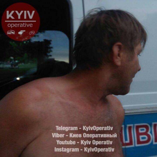 На Киевщине задержали пьяного водителя «скорой»