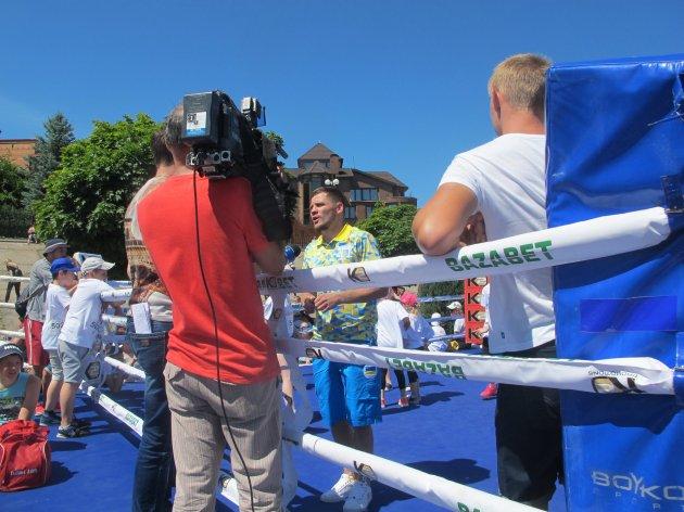 Непобедимого украинского боксера «нокаутировали» на Оболони