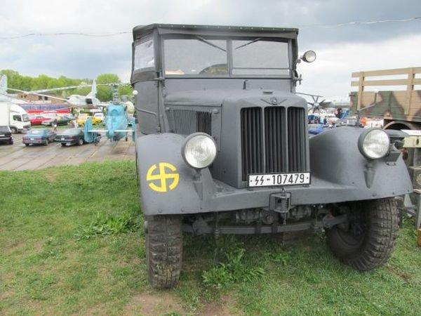 Заработал единственный в мире тягач немецкой армии. Фото