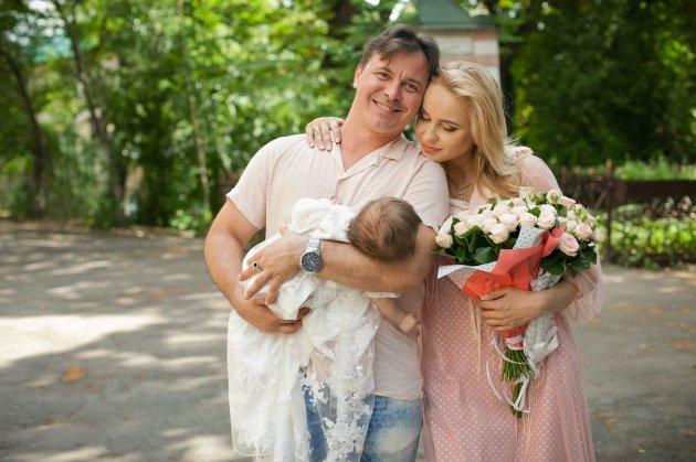 Украинская телезвезда окрестила дочь
