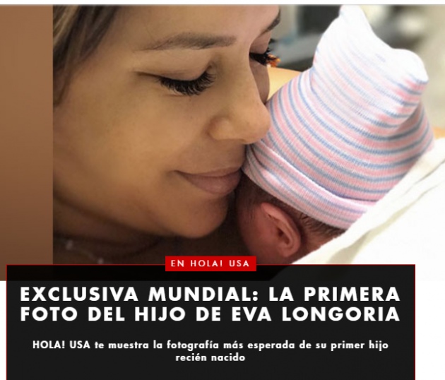 Звезда «Отчаянных домохозяек» впервые стала мамой