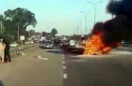 В Херсонской области столкнулись несколько автомобилей, есть жертвы