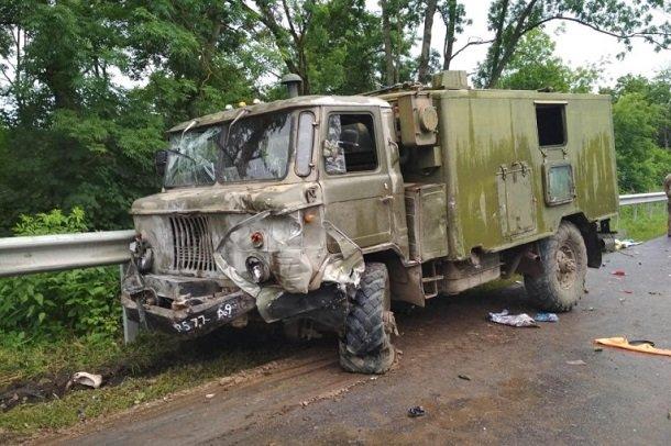 На Тернопольщине произошло смертельное ДТП с участием военных