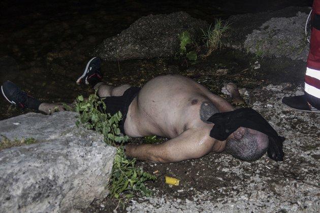 В Киеве со дна Днепра достали тело мужчины
