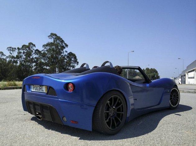 В Португалии создали спорткар с «фордовскими» агрегатами. Фото