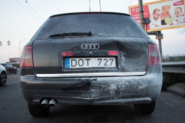 В Киеве произошло серьезное ДТП с возгоранием