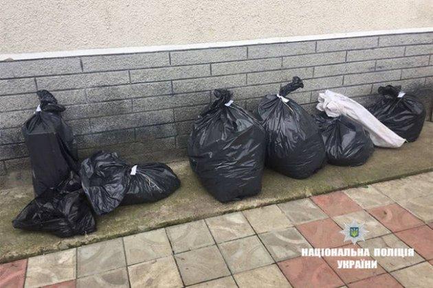 Полиция изъяла у жителя Калуша 10 кг наркотиков. Фото