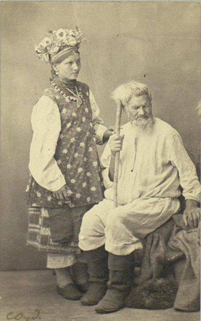 Так выглядели украинские женщины век назад. Фото