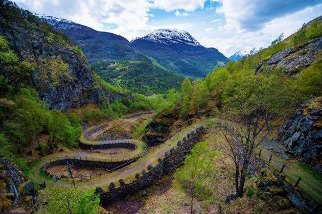 Невероятные пейзажи сказочной Норвегии. Фото